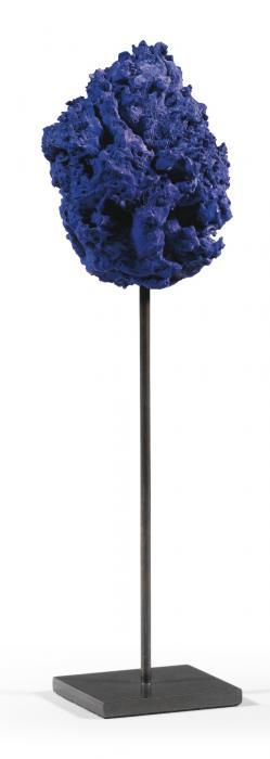 Yves Klein-Untitled Blue Sponge Sculpture (Se 307)-1961
