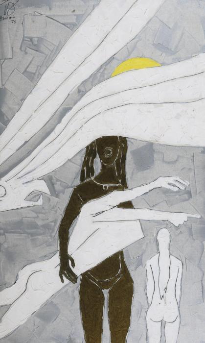 Maqbool Fida Husain-Devadasi-1976
