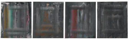 Gerhard Richter-Abstrakte Bilder 716-18,19,20,21-1990