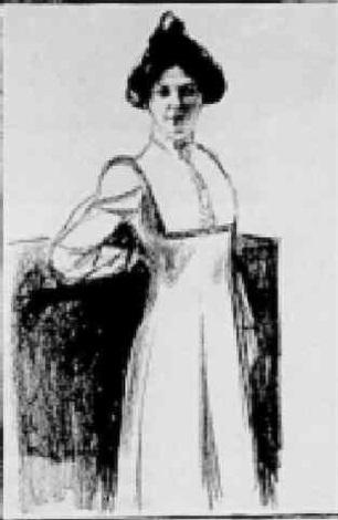 Portrat Martha Sandal / Portrait of Martha Sandal-1902