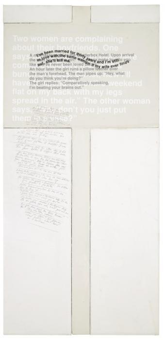 Richard Prince-Untitled (Protest Painting)-1990
