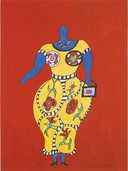 Niki de Saint Phalle-Nana-1994