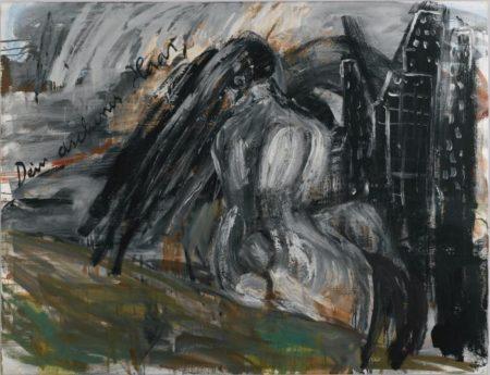 Anselm Kiefer-Dein Aschenes Haar, Sulamith-1981