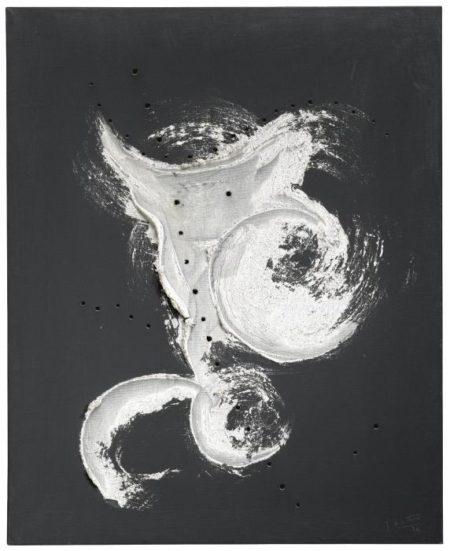 Lucio Fontana-Concetto Spaziale-1956