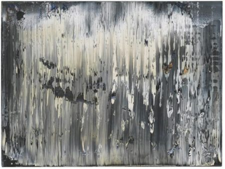 Gerhard Richter-Grat 1 (Ridge 1)-1989