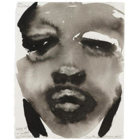 Marlene Dumas-Copy of a Model-1996