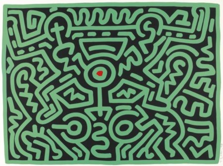 Keith Haring-KeithHaring - Growing (L. Pp. 88-91)-1988