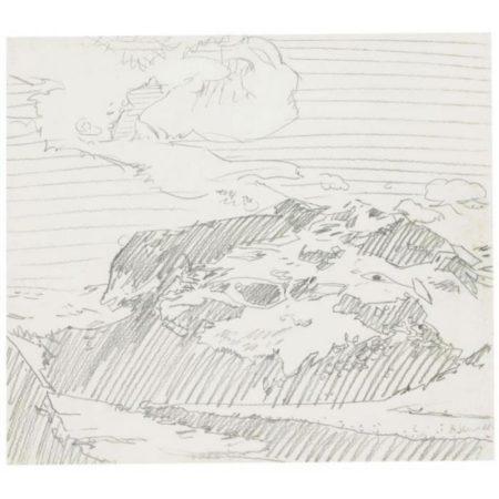 Gerhard Richter-Gebirge (Mountains)-1968