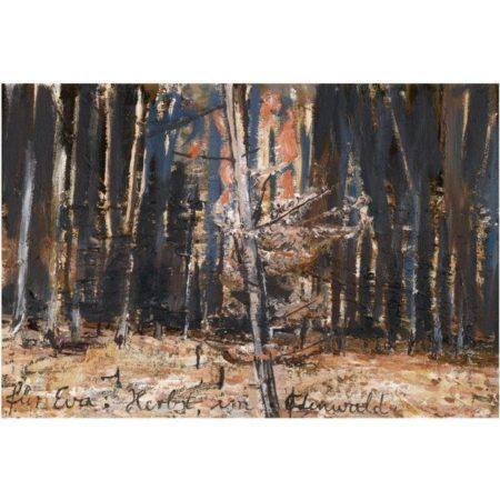 Anselm Kiefer-Fur Eva: Herbst im Odenwald-1980