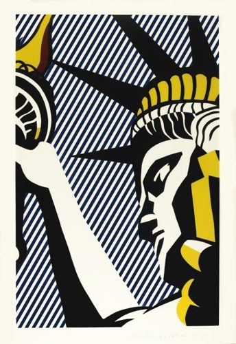Roy Lichtenstein-I Love Liberty-1982