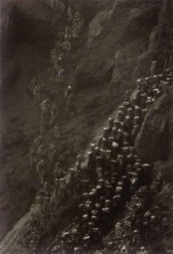 Sebastiao Salgado-The Gold Mine, Serra Pelada, State of Para, Brazil-1986