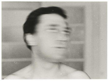 Gerhard Richter-Self Portrait  (The  Head Turning)-1971
