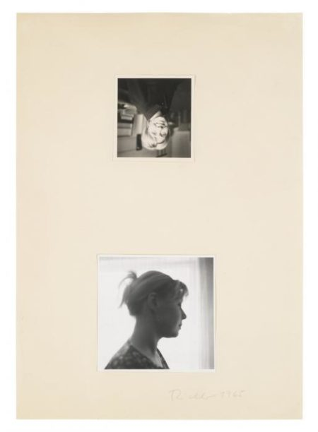 Gerhard Richter-Two Portraits of Ema-1965