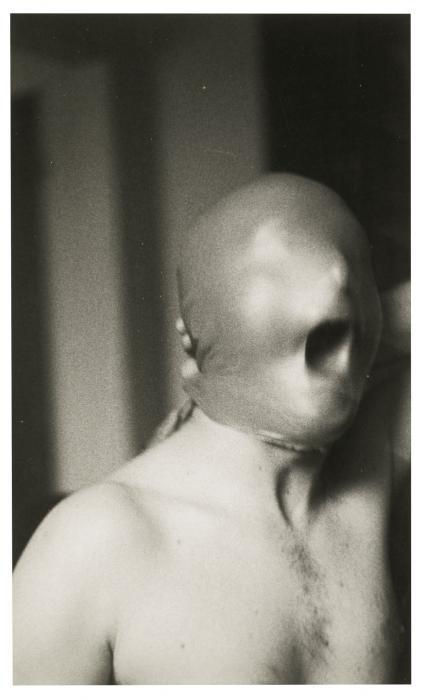 Gerhard Richter-Self Portrait  (The  Mask)-1971