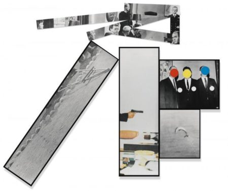 John Baldessari-The Fallen Easel-1988