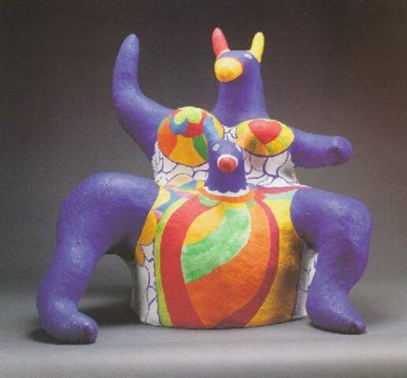 Niki de Saint Phalle-Kangaroo-1979