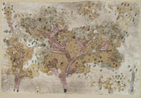 Paul Klee-Alte baume (Aged Trees)-1931