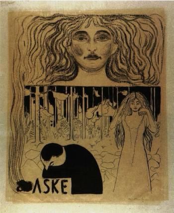 Edvard Munch-Asche-1896