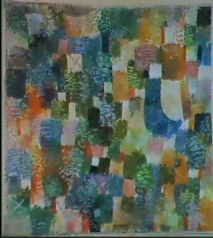 Paul Klee-Rhythmus Der Baume-1914
