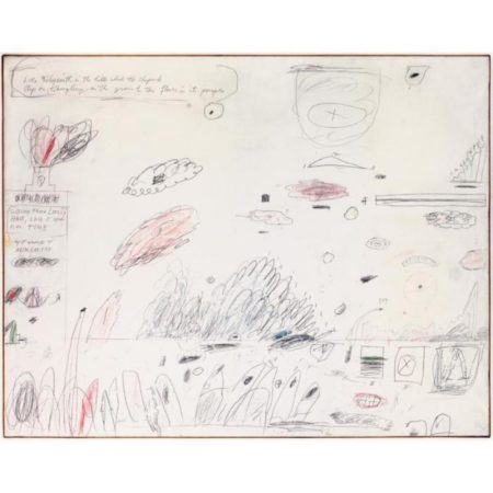 Cy Twombly-Epitaph-1960