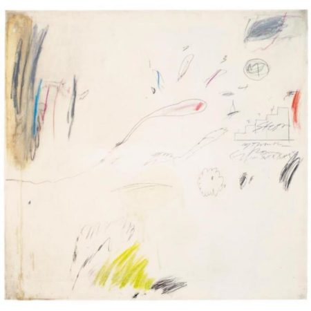 Cy Twombly-Steps-1960