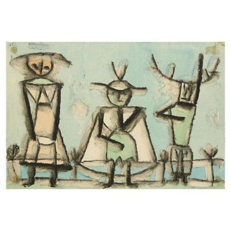 Paul Klee-Terzert Von Einer Operetta (Trio From An Operetta)-1937