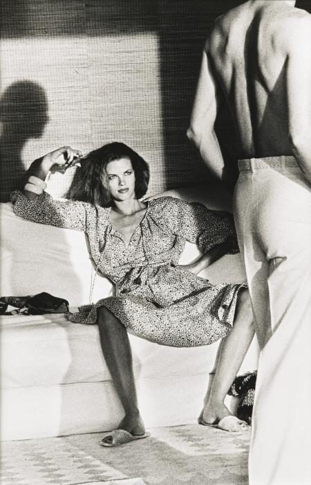 Helmut Newton-Fashion Calvin Klein, American Vogue (1975)-1975