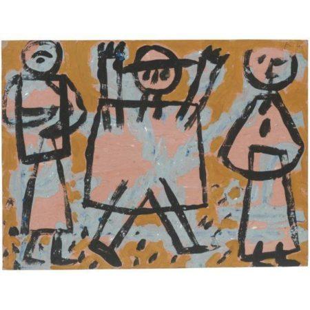 Paul Klee-Hande hoch (Hands up)-1938