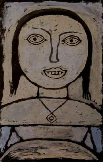 Paul Klee-Krankes Madchen (Sick Girl)-1937