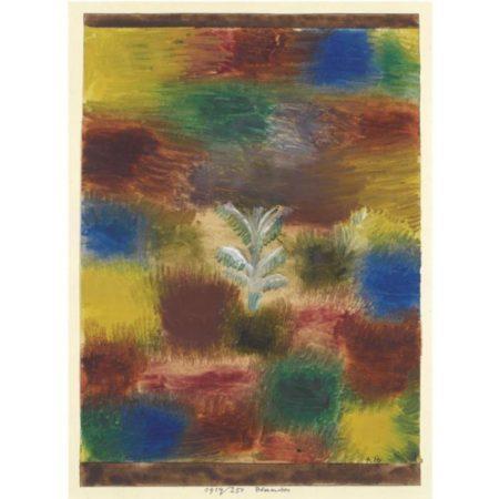 Paul Klee-Baumchen (Kleiner Baum Im Gebusch) (Little Tree - Little Tree Amid Shrubbery)-1919