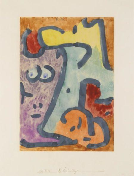 Paul Klee-Die Schattige (The Shadowy One)-1939