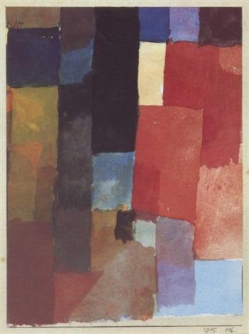 Paul Klee-Kleine Schwarze Tur-1915