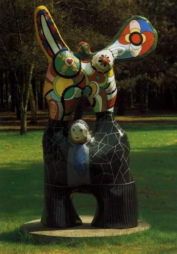 Niki de Saint Phalle-Le Poete et sa Muse-1973