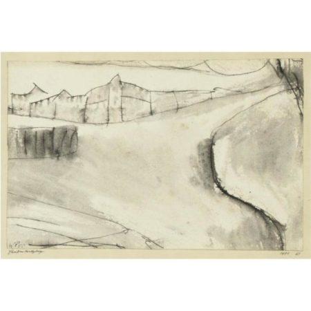 Paul Klee-Strassen Kreuzung (Crossroads)-1911