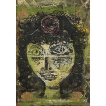 Paul Klee-Rosa-1920