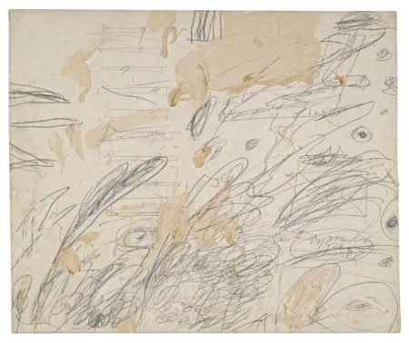Cy Twombly-Untitled (Rome)-1961