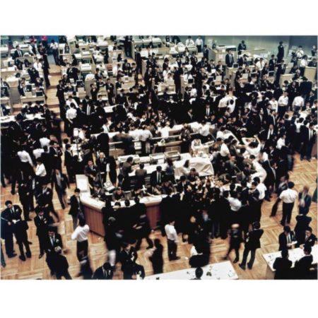 Andreas Gursky-Borse, Tokyo-1990