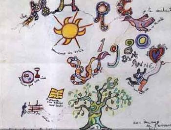 Niki de Saint Phalle-Bonne Annee 1980-1980