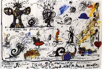 Niki de Saint Phalle-Fontaine Igor Stravinsky-