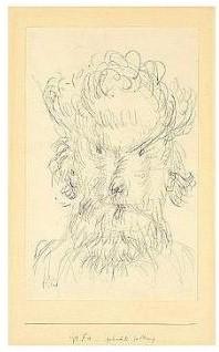 Paul Klee-Gehemte Geltung (Inhibited Prestige)-1933