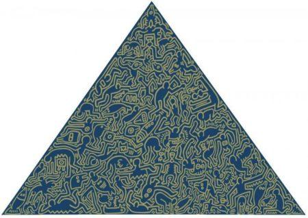 Keith Haring-Keith Haring - Pyramid-1989