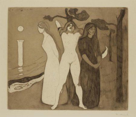 The Woman II / Kvinnen II / Das Weib (Woll 22)-1895