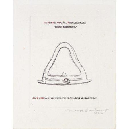 Marcel Duchamp-Mirrorical Return (Un robinet original revolutionnaire) (Schwarz 370)-1964