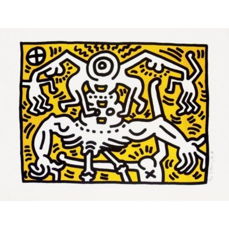 Keith Haring-Keith Haring - UNTITLED (L. 29)-1990
