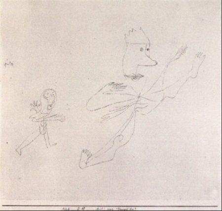 Paul Klee-Mil! Was Tanzest Du?-1928