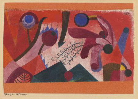 Paul Klee-Giftbeeren (Poisonous Berries)-1920