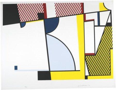 Roy Lichtenstein-Bull V from Bull Profile Series-1973