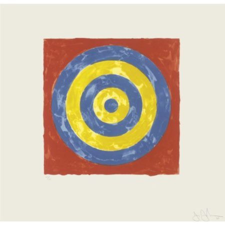 Jasper Johns-Target (ULAE 35)-1967
