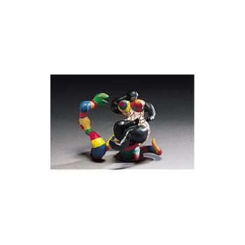 Niki de Saint Phalle-Nana assise sur un serpent-1984