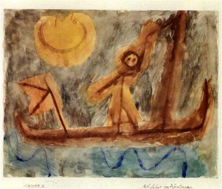Paul Klee-Abfahrt des Abenteurers-1939